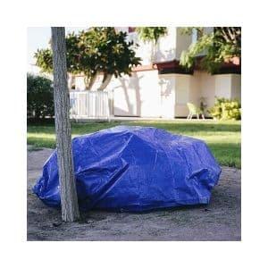 Toldo reforzado gramaje 90 grs, 3 x 5 m, color azul 1