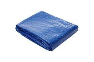 Toldo reforzado gramaje 90 grs, 3 x 5 m, color azul